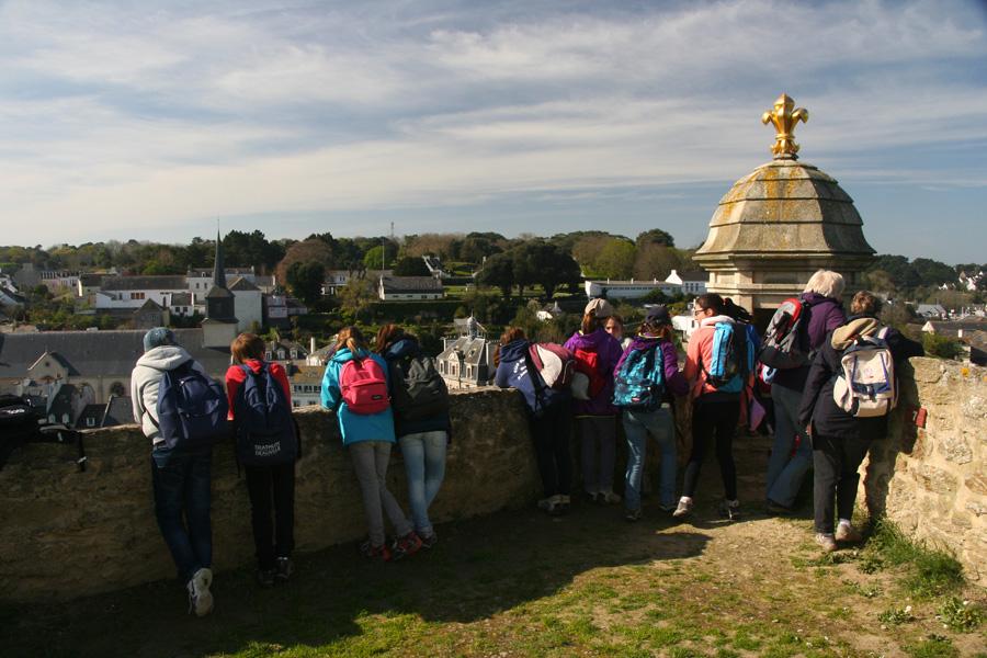 Visite de la Citadelle Vauban au Palais
