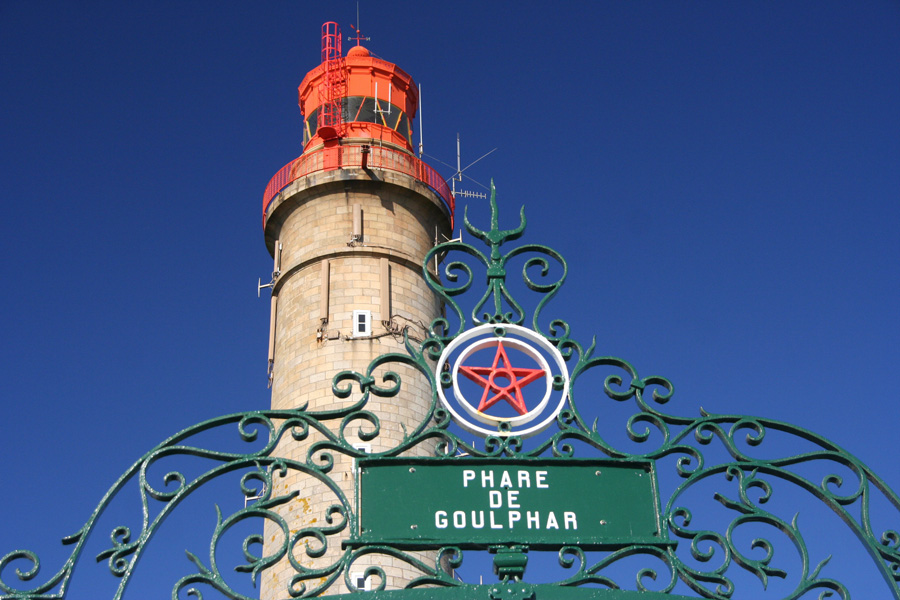 Le Grand phare de Belle île en Mer