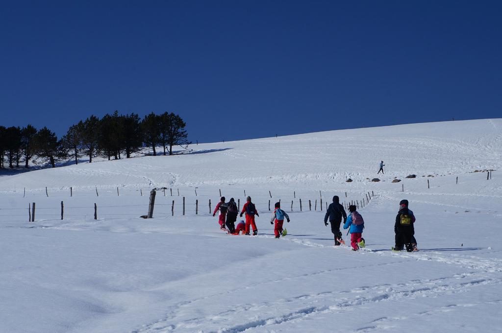 Classe découverte hiver, une manière ludique et originale pour appréhender les volcans d'Auvergne