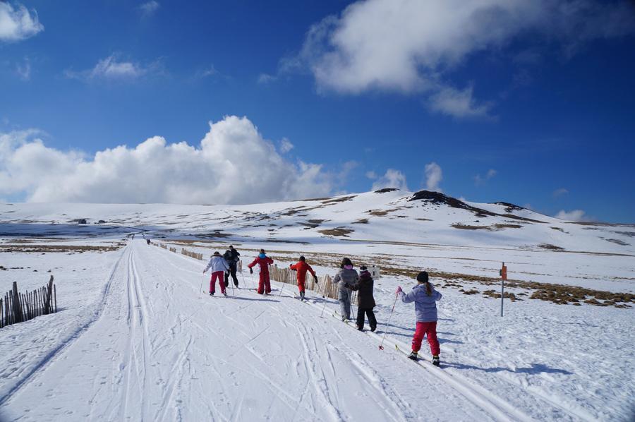 Initiation au ski de fond