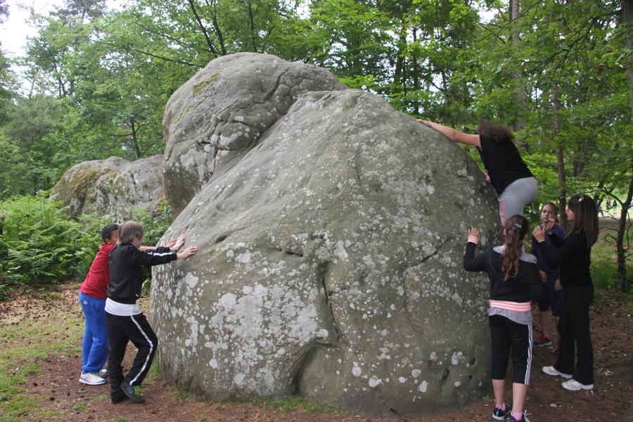 Initiation à l'escalade sur les blocs de Fontainebleau