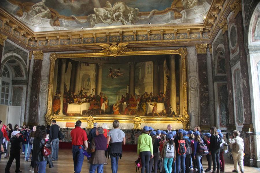 Visite du château de Versailles : le Salon d'Hercule