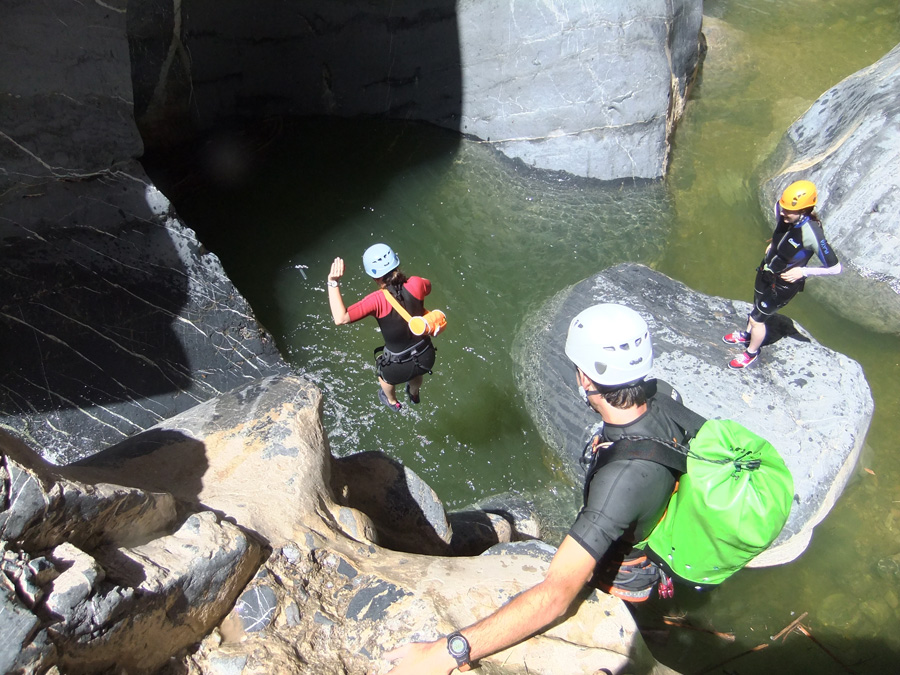 Canyoning à Snake Canyon