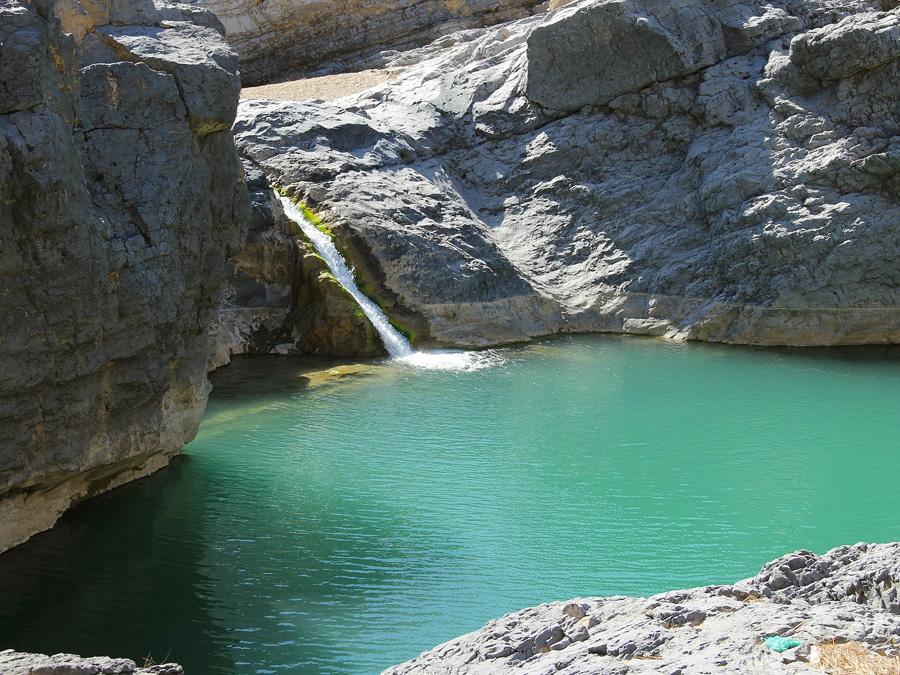 L'eau dans le desert